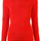 Burberry - crew neck jumper - women - cashmere/wool - l, red, cashmere/wool