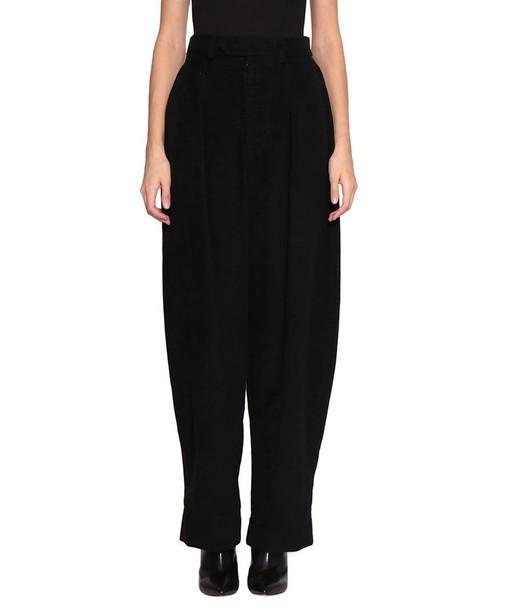 Isabel Marant pants velvet pants velvet
