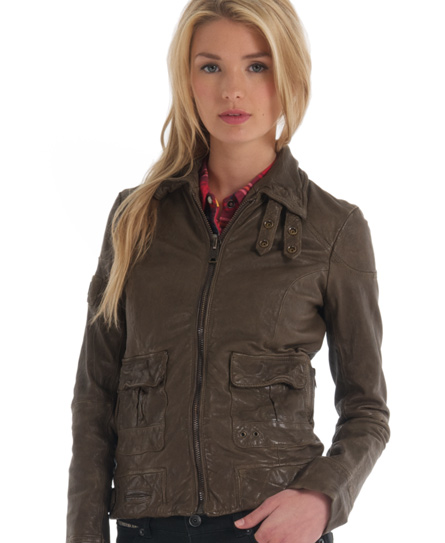 Superdry Warbird Jacket - Women's Leathers