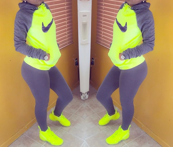 Womens Nike Shoes Gray And Green