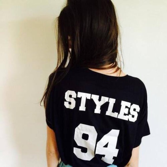t-shirt harry styles one direction band t-shirt