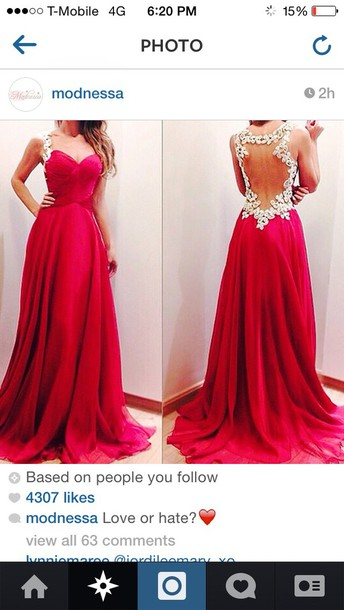 red dress prom dress openbackpromdress white lace bright open back long sleeve dress turquoise dress dress rose color flower back long prom dress open back prom dress berry colored long dress backless dress glitter dress red prom dress prom dress burgundy dress