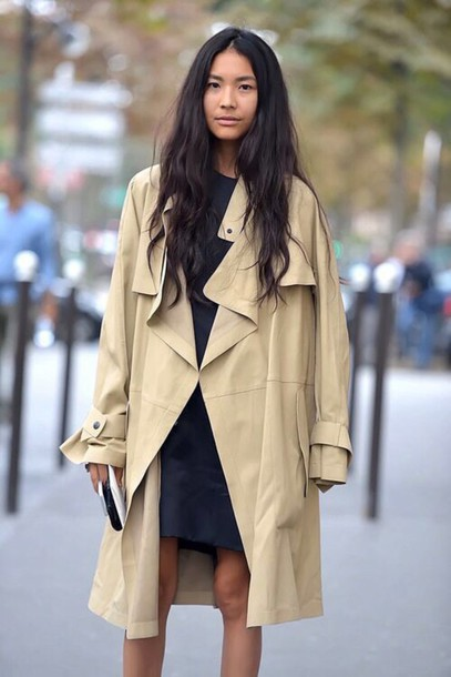 coat beige nude nude coat beige coat waterfall coat boho