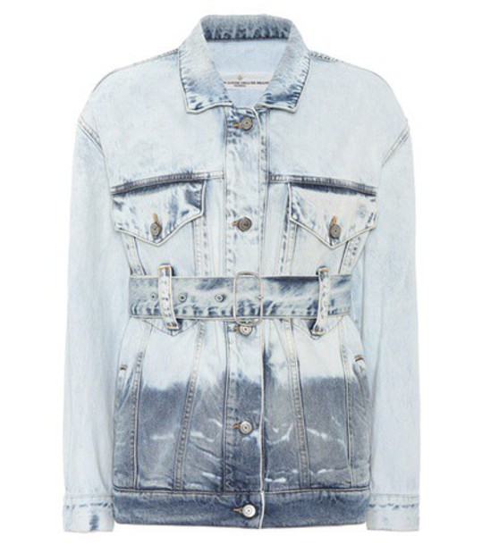 Golden Goose Deluxe Brand Viola denim jacket in blue