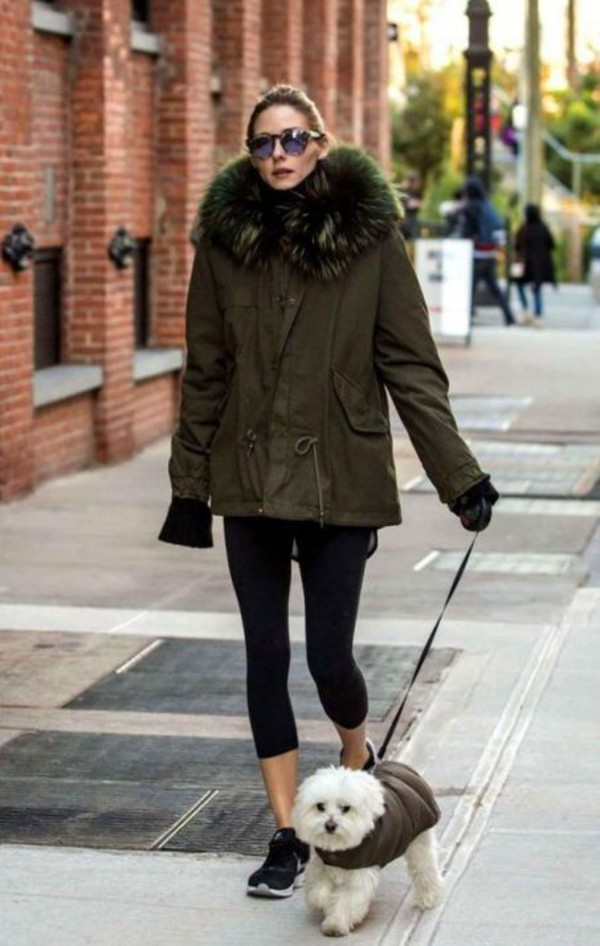 Mr Amp Mrs Italy Shearling Trimmed Cotton Canvas Parka