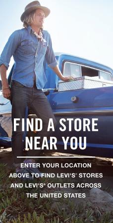 Levi.com: Store Locator