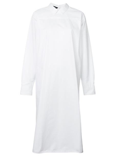 Sofie D'hoore dress shirt dress back women white cotton