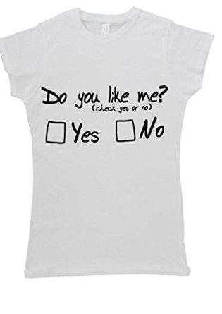 Do you like me check yes or no click women vest tank top t