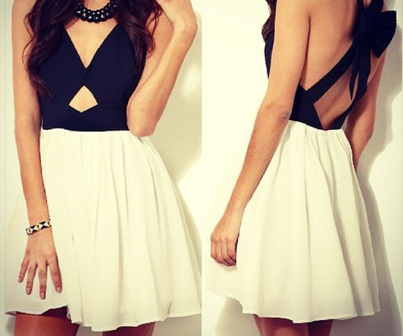 dress white dress cute dress black strappy black dresses black top dress mini dress