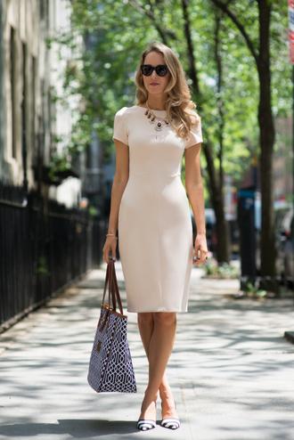 the classy cubicle dress jewels bag coat shoes sunglasses