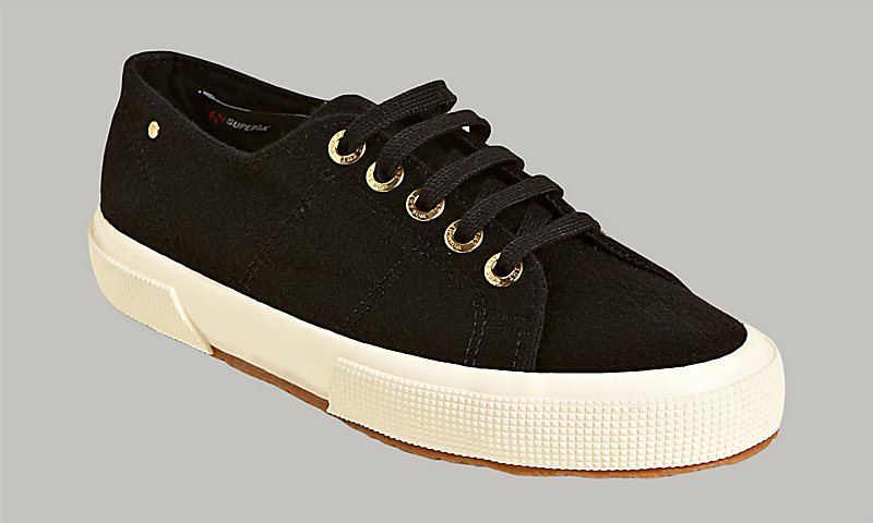 2750 CACHEMIREU BLACK     - Superga