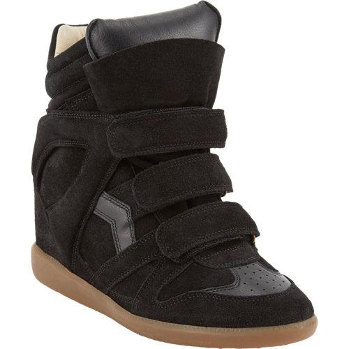 Isabel marant bekett hidden wedge sneakers at barneys.com