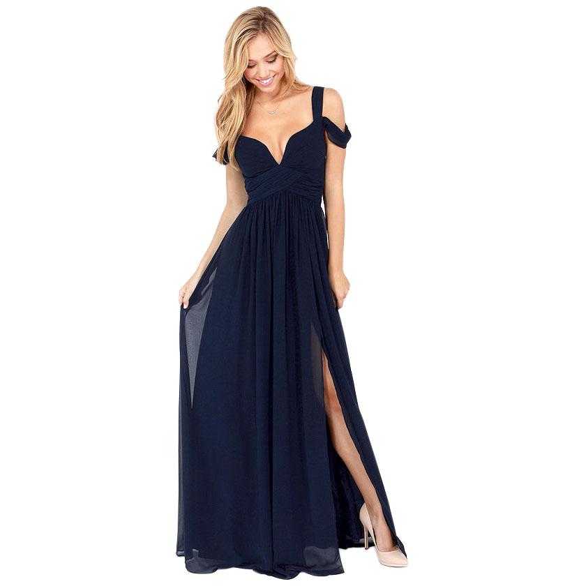 Fashion cute chiffon long dress