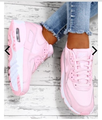 shoes air max nike pink shoes