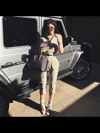 jumpsuit kylie jenner givenchy