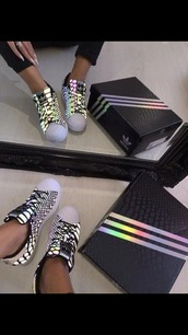 shoes,neon,adidas,adidas superstars,low top sneakers,xeno