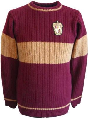 OFFICIAL WARNER BROS. HARRY POTTER GRYFFINDOR QUIDDITCH SWEATER : Licensed Quidditch : Lochaven International Ltd