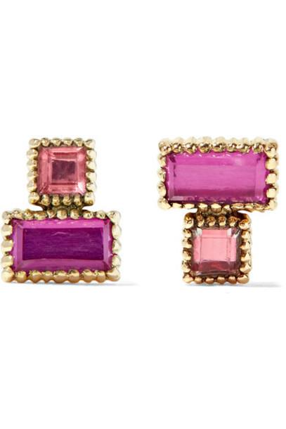 Larkspur & Hawk earrings gold jewels