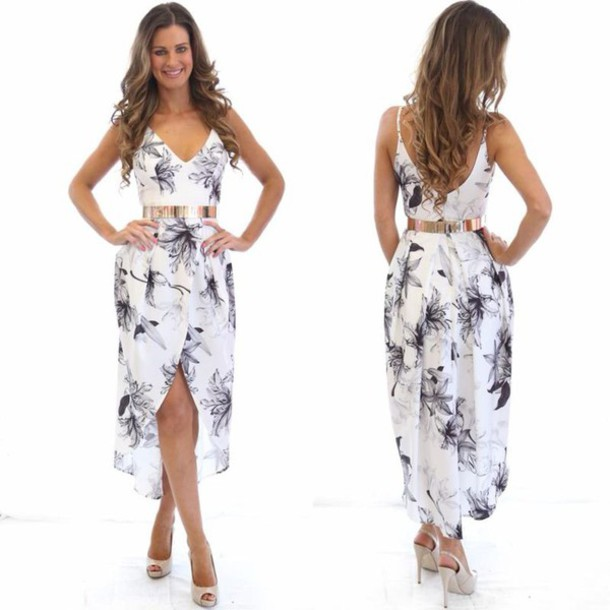 Dress black and white maxi dress races air max black and white - Wheretoget