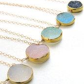 jewels,dainty necklace,simple dainty,dainty jewelry,simple jewelry,dainty,delicate necklace,delicate,necklace,jewelry,accessories,earrings,gold,quartz,crystal quartz,minimalist,minimalist jewelry,dreamy,beautiful,elegant,turquoise,etsy