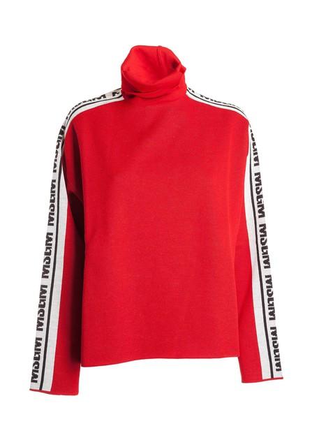 MSGM jumper turtleneck red sweater