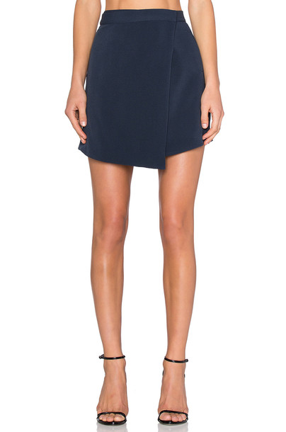 The Fifth Label Now You See Me Skirt in navy