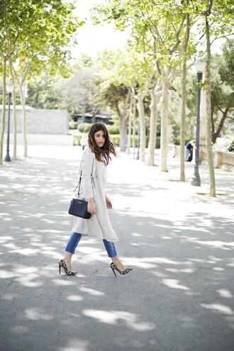 dulceida jacket blouse jeans shoes bag