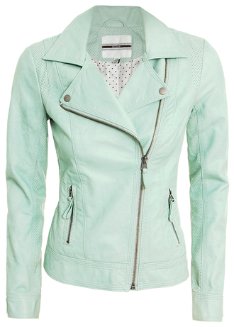 jacket mint bomber jacket polka dots pinterest