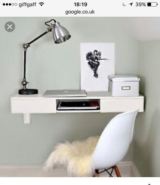 home accessory floating shelf makeup table white shelf storage shelf