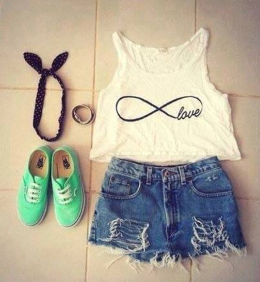 infinity tank top crop tops summer
