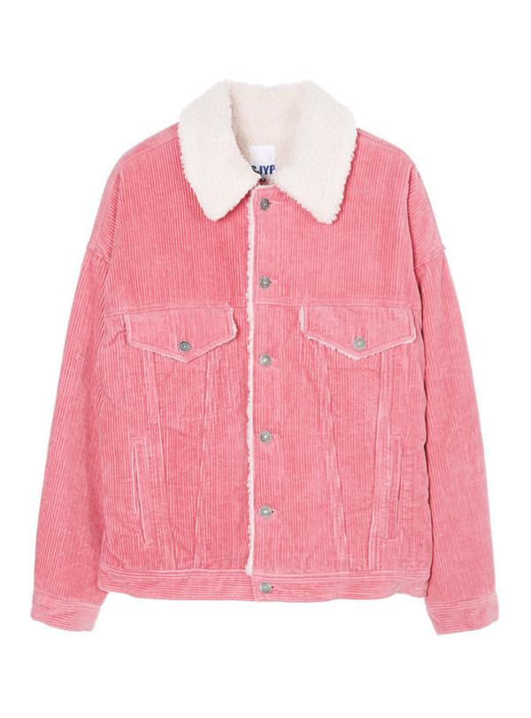Pink Shearling Jacket - Shop for Pink Shearling Jacket on Wheretoget