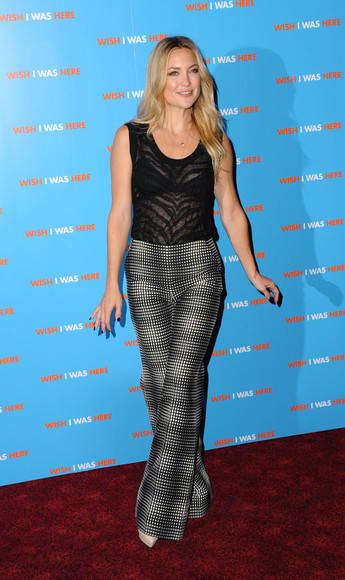 kate hudson pants shoes top