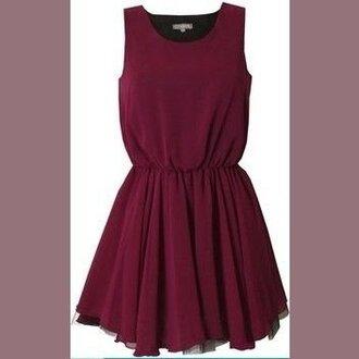 dress burgundy burgundy dress short dress chiffon chiffon dress cute cute dress