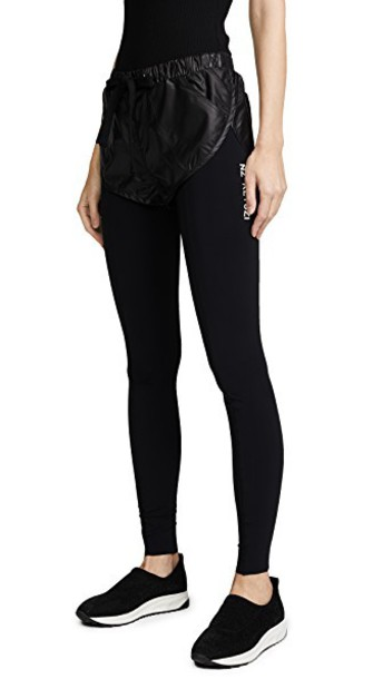 Natasha Zinko leggings layered black pants