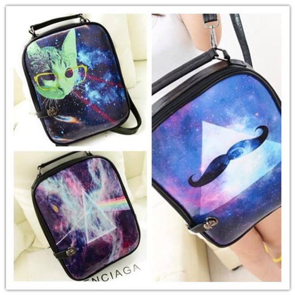 bag galaxy print