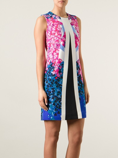 Peter Pilotto Graphic Print Dress - Smets - Farfetch.com
