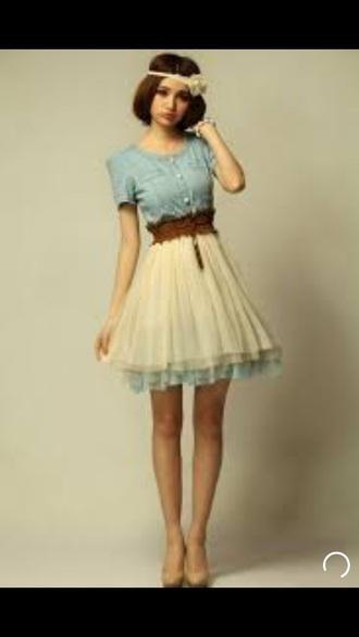 t-shirt dress korean fashion chiffon dress