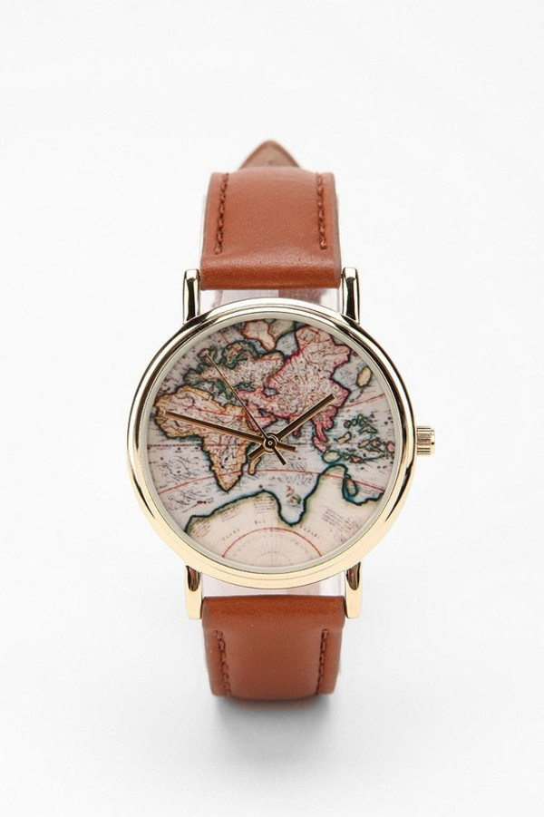 jewels map watch watch