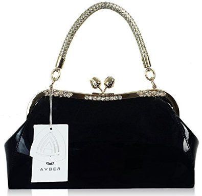 Bag Work Place Patent Stereotypes Handbag Top Handle Bag Black ...