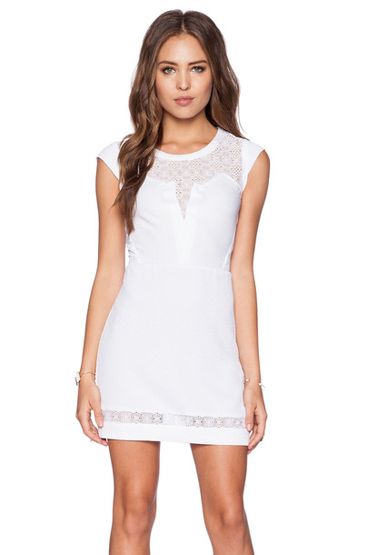 The Kooples dress lace white