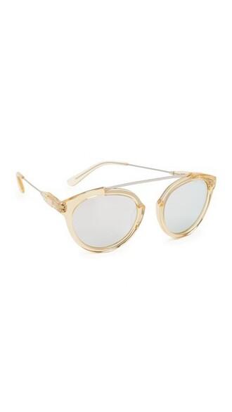 sunglasses silver champagne