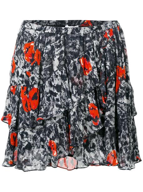 Iro skirt women layered black