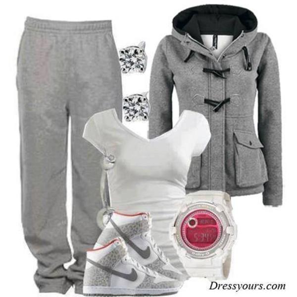 jacket hoodie grey sportswear sportswear nike shoes
