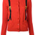 Moschino - trompe l'oeil backpack cardigan - women - Cotton - 42, Red, Cotton