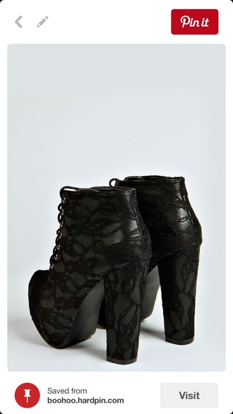 shoes black heels black boots style