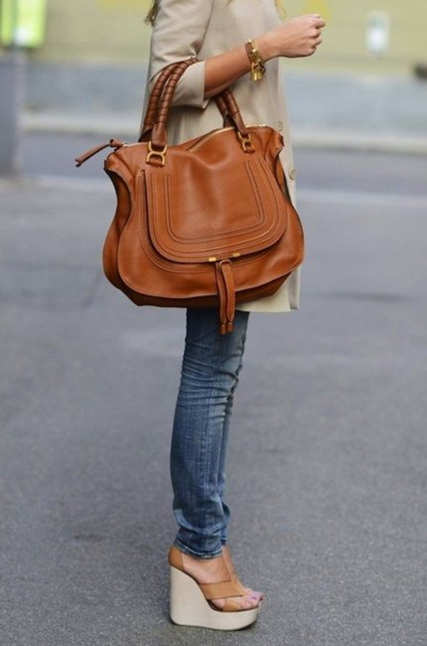 Chlo¨¦ | Marcie Large leather tote | NET-A-PORTER.COM