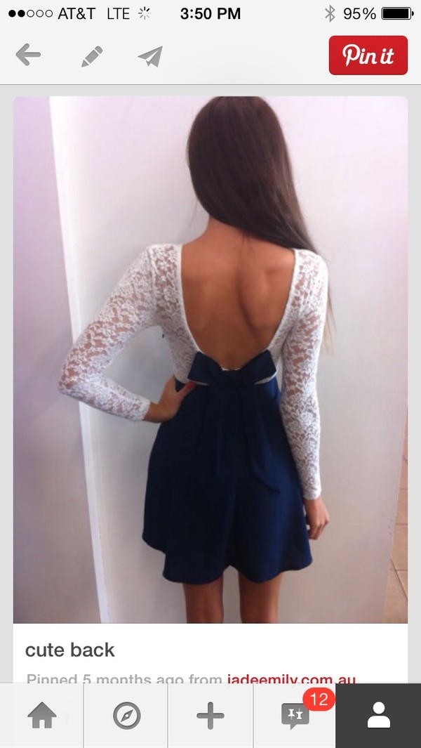 dress lace dress cute dress