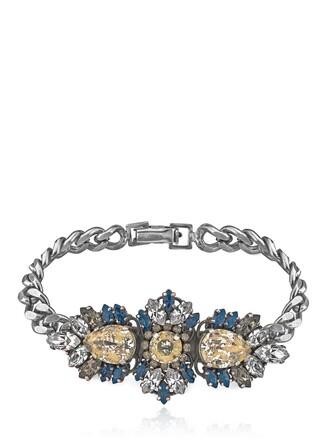 silver blue jewels