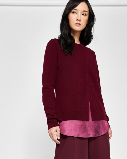 Ted Baker sweater silk