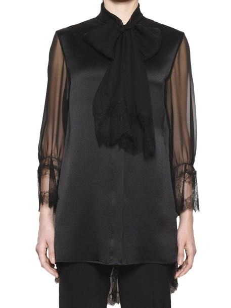 Alberta Ferretti blouse black top